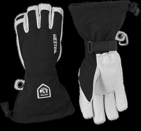 Army Leather Heli Ski 5-finger