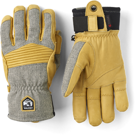 Army Leather Couloir 5-finger
