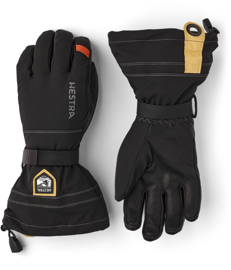 Army Leather Blizzard 5-finger