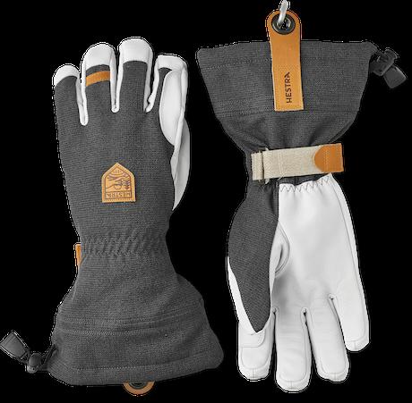 Army Leather Patrol Gauntlet - 5 finger